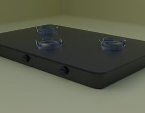 Burner 3d model housedesign