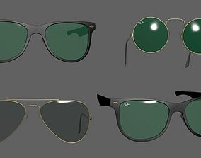 Sunglasses collection 3D
