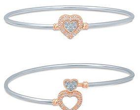 bangle 3D printable model Bracelet
