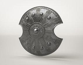Roman Armor Decorated Shield 3D asset