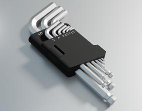 3D model Hex keys