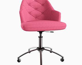Tufted Desk Chair 3D print model