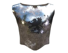 3D model Medieval Armor Chestpiece