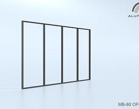 3D Aluprof MB-80 Office 013 0175