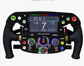 3D model VF16 Steering Wheel