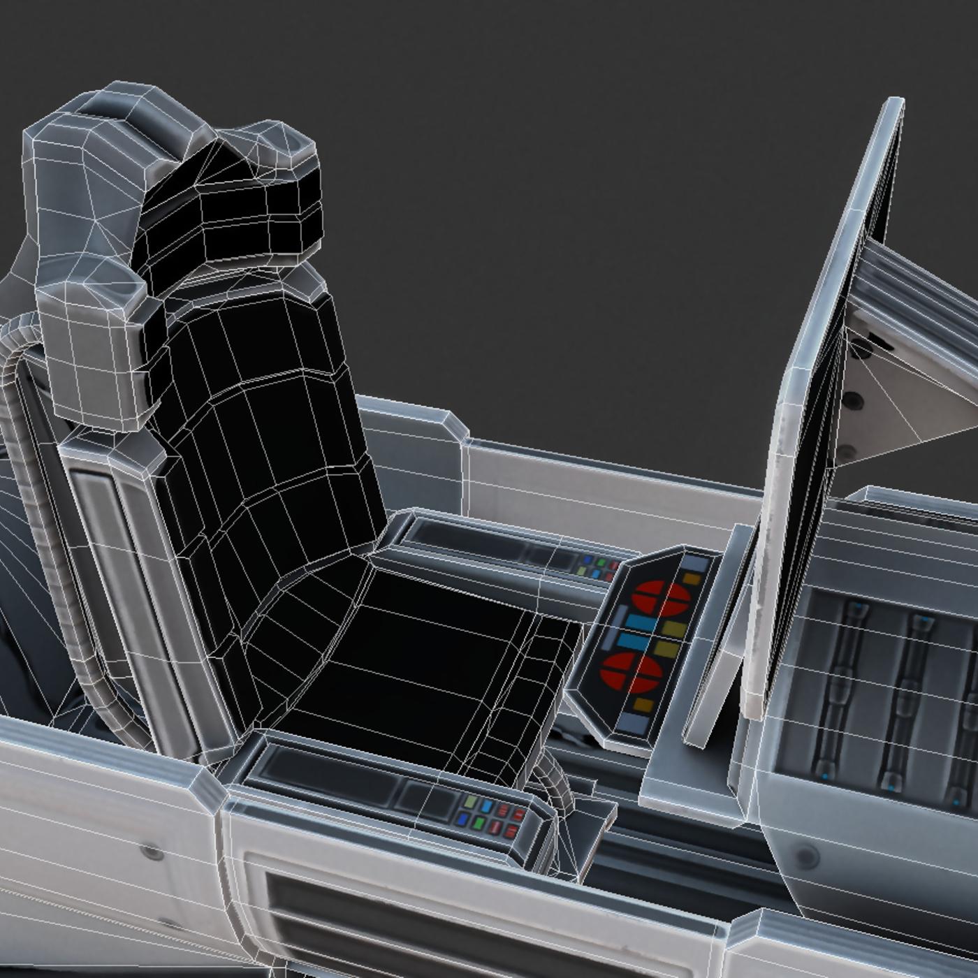 Scifi Vehicle Control Module (Basic-Version)