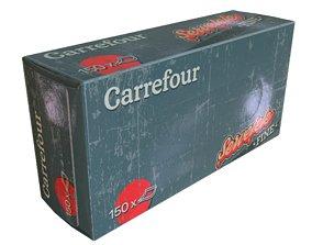 3D model Carrefour Napkin Box