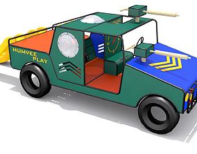 Vehicle Playground 3D asset