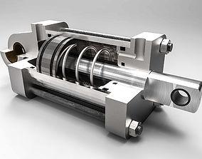 CILINDRO DE SIMPLE EFECTO 3D model