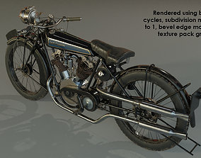 1924 Croft-cameron classic bike 3D model