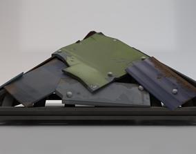 3D model Metal Roof