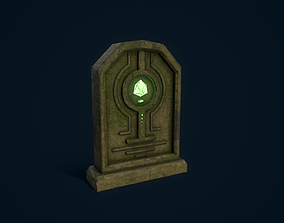 Magical Tombstone 3D model
