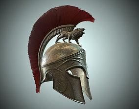 gladiator armor Low-poly 3D model PBR