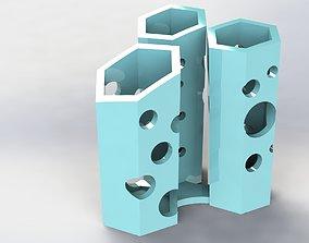 3D print model Hive Pen Holder Crater