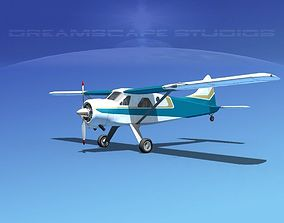 3D Dehaviland DH-2 Beaver SL05