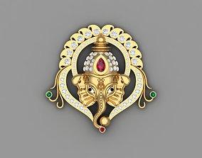 ganesh bhagwan locket 3D print model