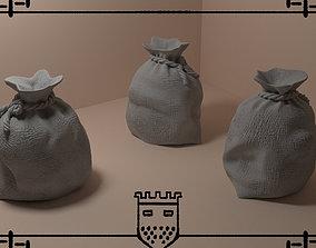 Medieval fantasy bag 3 3D printable model