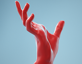 3D Clawing Horror Realistic Hand Model 06