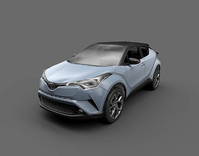 3D asset Low Poly Car - Toyota C-HR 2017