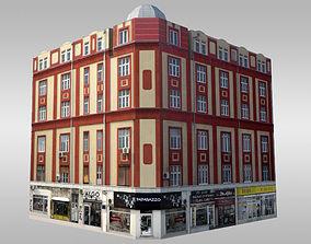 Classical Corner Building 3D model