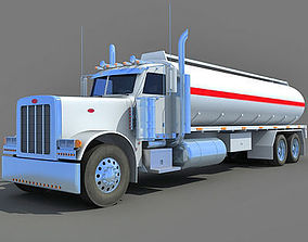Heavy Tanker Truck vehicle 3D model