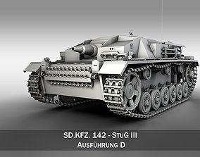 3D StuG III - Ausfuerung D