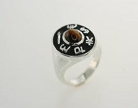 3D printable model Signet Ring indication