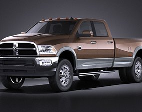 3D Dodge Ram Heavy Duty 2014 VRAY
