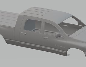 Dodge Ram 2500 Printable Body Truck