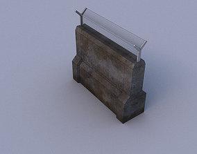 Fance 03 3D asset