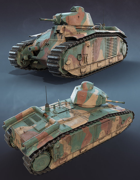 Char B1 French Tank