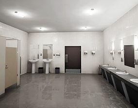 3D model PBR Restroom