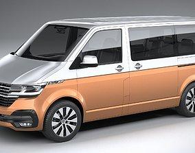 Volkswagen Transporter T6-1 Bulli 2020 3D model