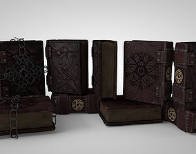 3D model Grimoire A book of magic