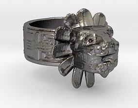 Quetzalcoatl Ring 3D printable model