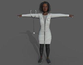 3D asset Doctor Female B