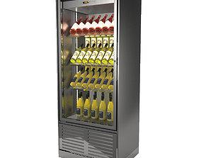 3D model Wine cabinet Enofrigo Enogalax single side