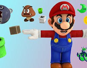 3D asset Super Mario Pack -rig-