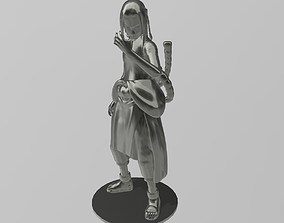 3D printable model Kimimaro from Naruto
