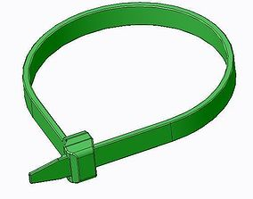 118-05040 Hellermann Cable Ties for 3D print model 2