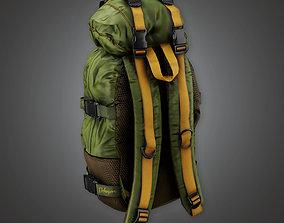 3D asset BHE - Parachute Bag - PBR Game Ready