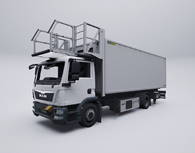 3D Airport Catering Truck