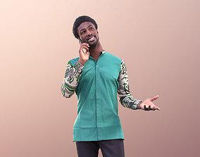 3D model Bruce 10508 - Guy Talking on Phone