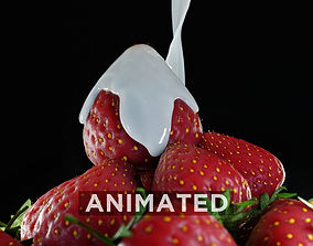 Strawberry Fluid 3D
