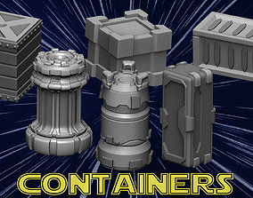 Containers 3D printable model