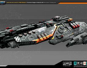 Federation Frigate MB2 3D model