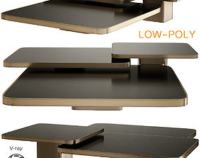 3D asset Bow Coffee Tables and Side Tables Classicon