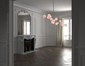 3D Haussmann Parisian Interior