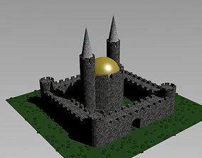 city castle 3D