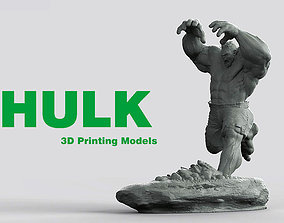 3D print model HULK He is always angry